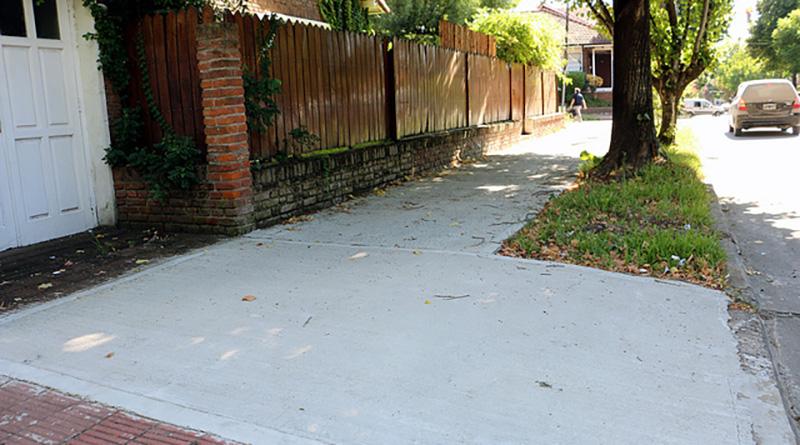 San Isidro ya reparó más de 400 veredas en todas las localidades