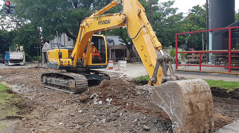 Mejoras en el asfalto de Dardo Rocha