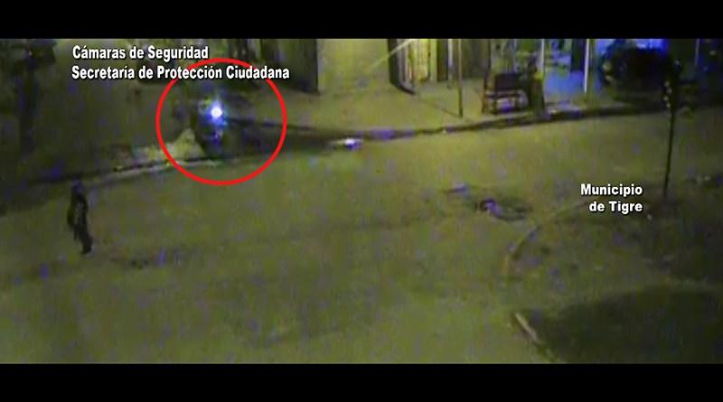 Una pareja robó una motocicleta en Don Torcuato, pero la tecnología del COT impidió que escaparan