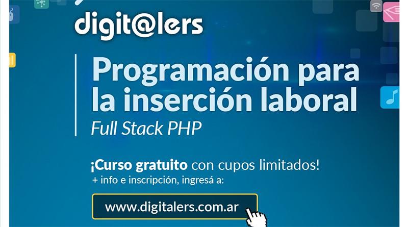 Digitalers – Curso de Programación para la Inserción Laboral en San Fernando