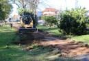 El municipo renueva el Paseo de los Inmigrantes de Villa Adelina