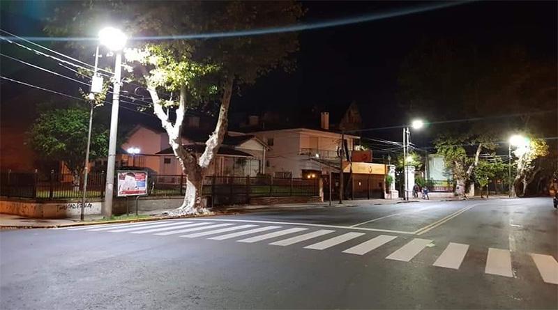 Tigre renueva luminarias en más localidades del distrito