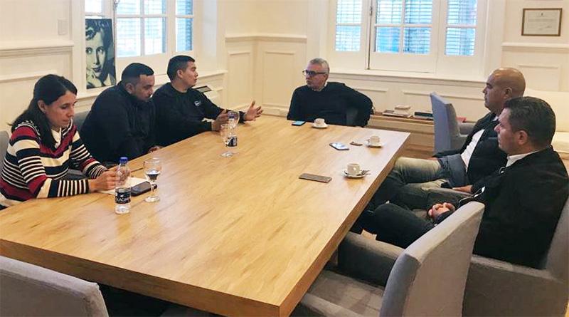 Julio Zamora expresó su apoyo a trabajadores de Sancor y La Serenísima, afectados por la crisis en Argentina
