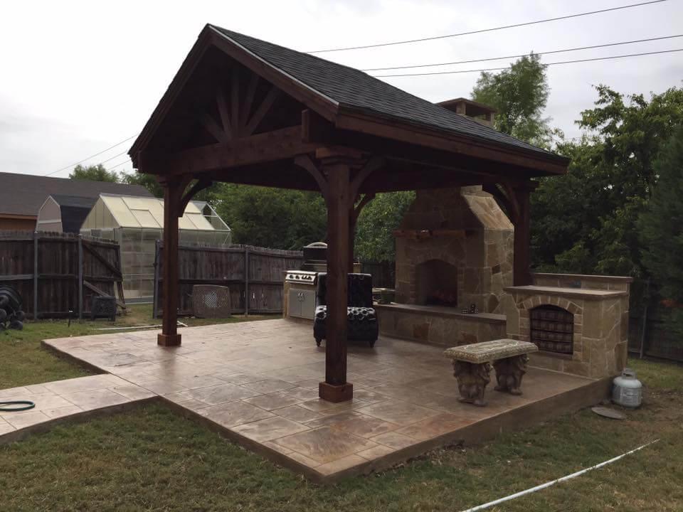 wooden gable patio covers nortex