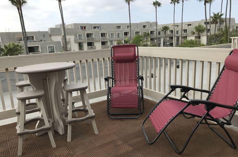 C-309 Chairs on Balcony