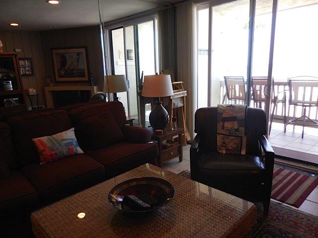 Oceanside Condo Living Room