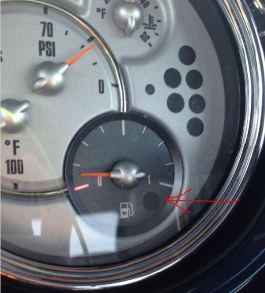 R50 R53 R53 Chrono Pack Gauge North American Motoring