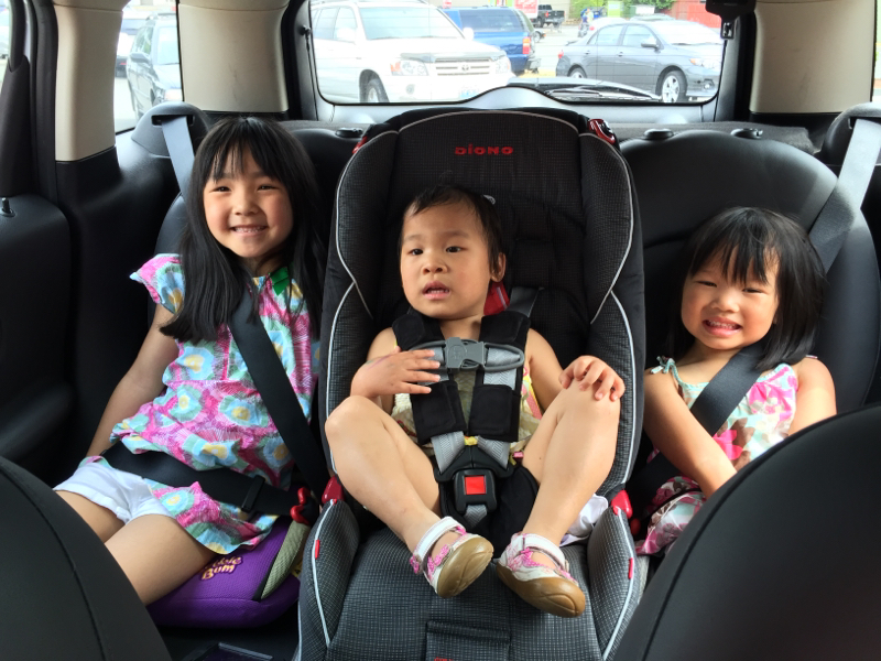 Three Car Seats In A Countryman North American Motoring