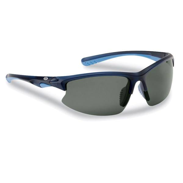 Drift Sunglasses 7828NS - Matte Crystal Navy Frame, Smoke Lenses