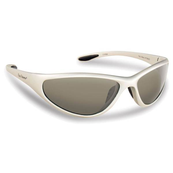 Key West Sunglasses 7780SS - Silver Frame, Smoke Lenses
