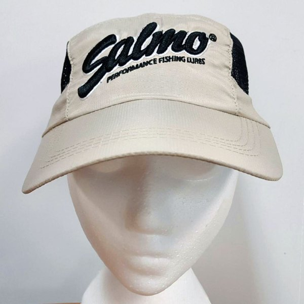 Salmo Fishing Hat - Beige with mesh sides