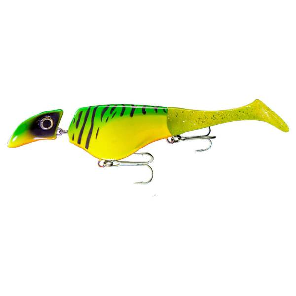 Headbanger Shad - Firetiger Color