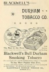 Durham Tobacco Co advertisement