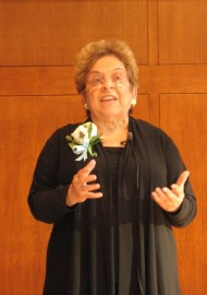 Former Health and Human Services Secretary Donna Shalala spoke about the future of nursing to a capacity crowd in Chapel Hill Tuesday.