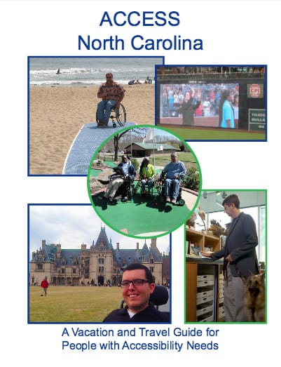 ACCESS NC is 514 pages of information on how people with disabilities can access state parks and facilities.