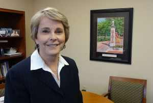 """""""We're in charge of the whole health care continuum,"""" says Cathy Landis, president and CNO of Transylvania Regional. Photo credit: Taylor Sisk"""