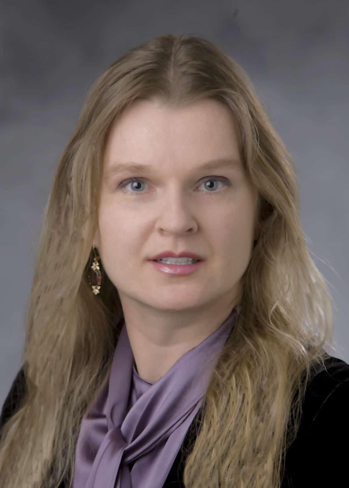 Julia Kravchenko, official Duke headshot