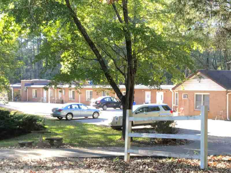shows the outside of Cedarbrook adult care home in Nebo.