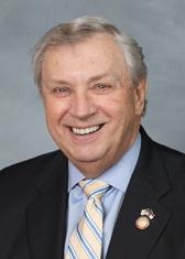 headshot of an older white male