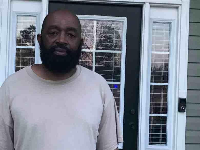 Eric Bostic, a resident who learned his well is contaminated with PFAS