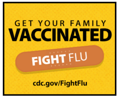 graphic including an image of coronavirus