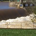 Rocky Mount Dam Overflow
