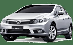 รถเช่าเชียงใหม่ Honda -civic เช่ารถขนาดกลาง