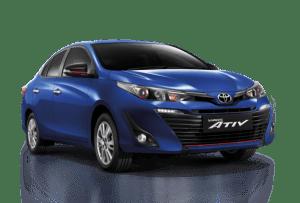 รถเช่าเชียงใหม่ Yaris Ativ 2017 -2018 เมืองเหนือรถเช่า