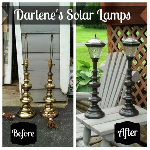 Redo it Yourself Inspiration Solar Lamps