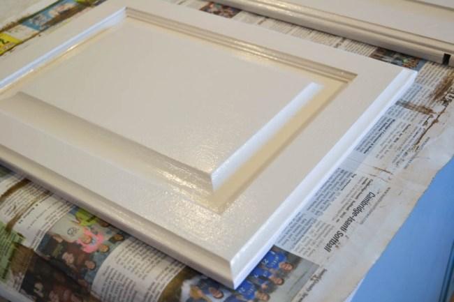 white kitchen cabinet door