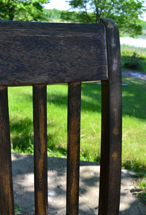 rocking chair post stain