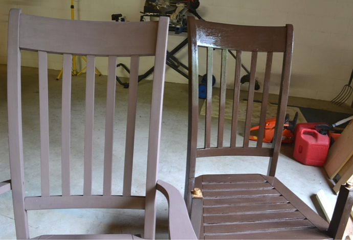 rocking chairs paint comparison