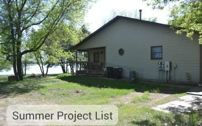 Summer Home Improvement Project List