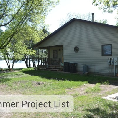 Summer Home Improvement Project List