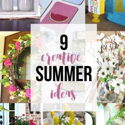 DIY Beverage Tray & Creative Summer Ideas Blog Hop