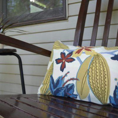 DIY Porch Pillow Cover