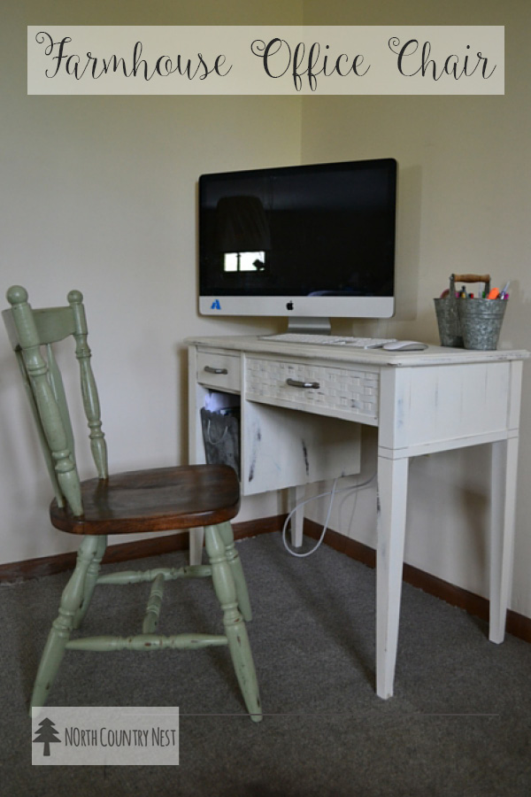 Thrift Store Office Chair Makeover