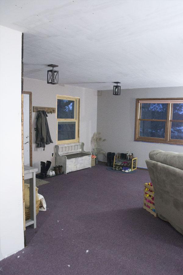 one room challenge-new-window-lights