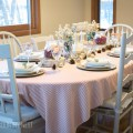 rustic holiday table decor