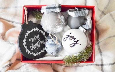 12 Days of Craftsmas: Farmhouse Ornament Set