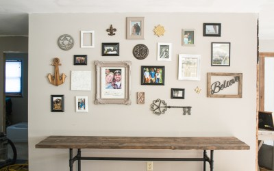 How to Hang a Gallery Wall in Five Steps