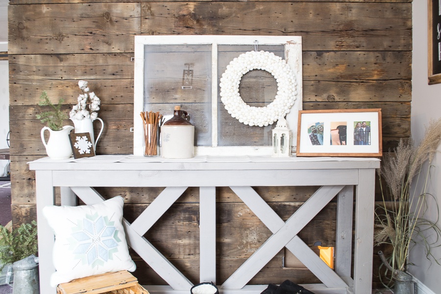 Rustic Farmhouse Winter Decor