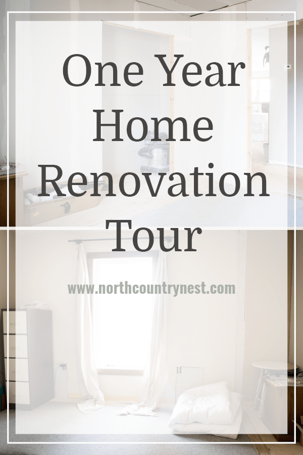 One Year Home Renovation Tour