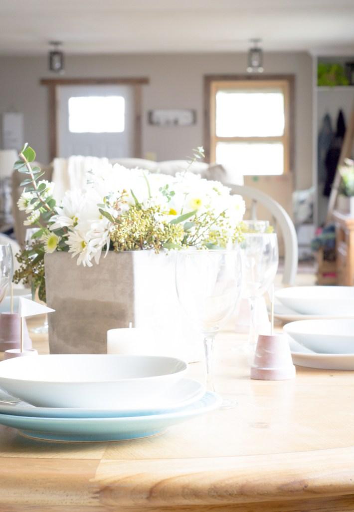 Spring Tablescape