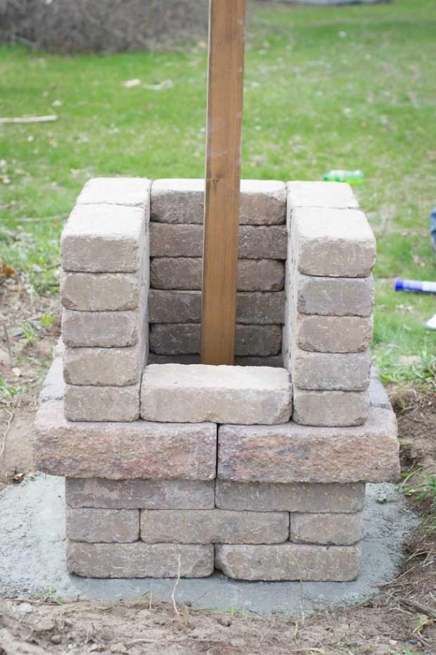 DIY Entrance Pillars