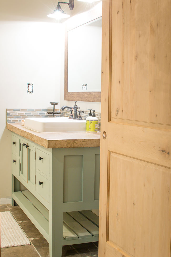 Guest Bathroom Home Renovation Update