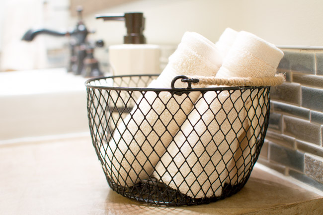 Industrial Style Dollar Store Basket