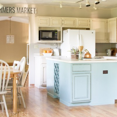 The Kitchen Summer Home Tour & Blog Hop