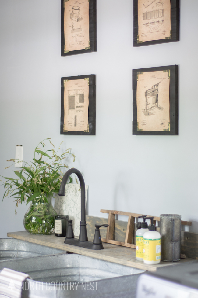 Industrial Laundry Room Part - 32: Industrial Style Laundry Room Renovation Reveal