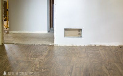 One Room Challenge Week Two: How to Install Plywood Flooring